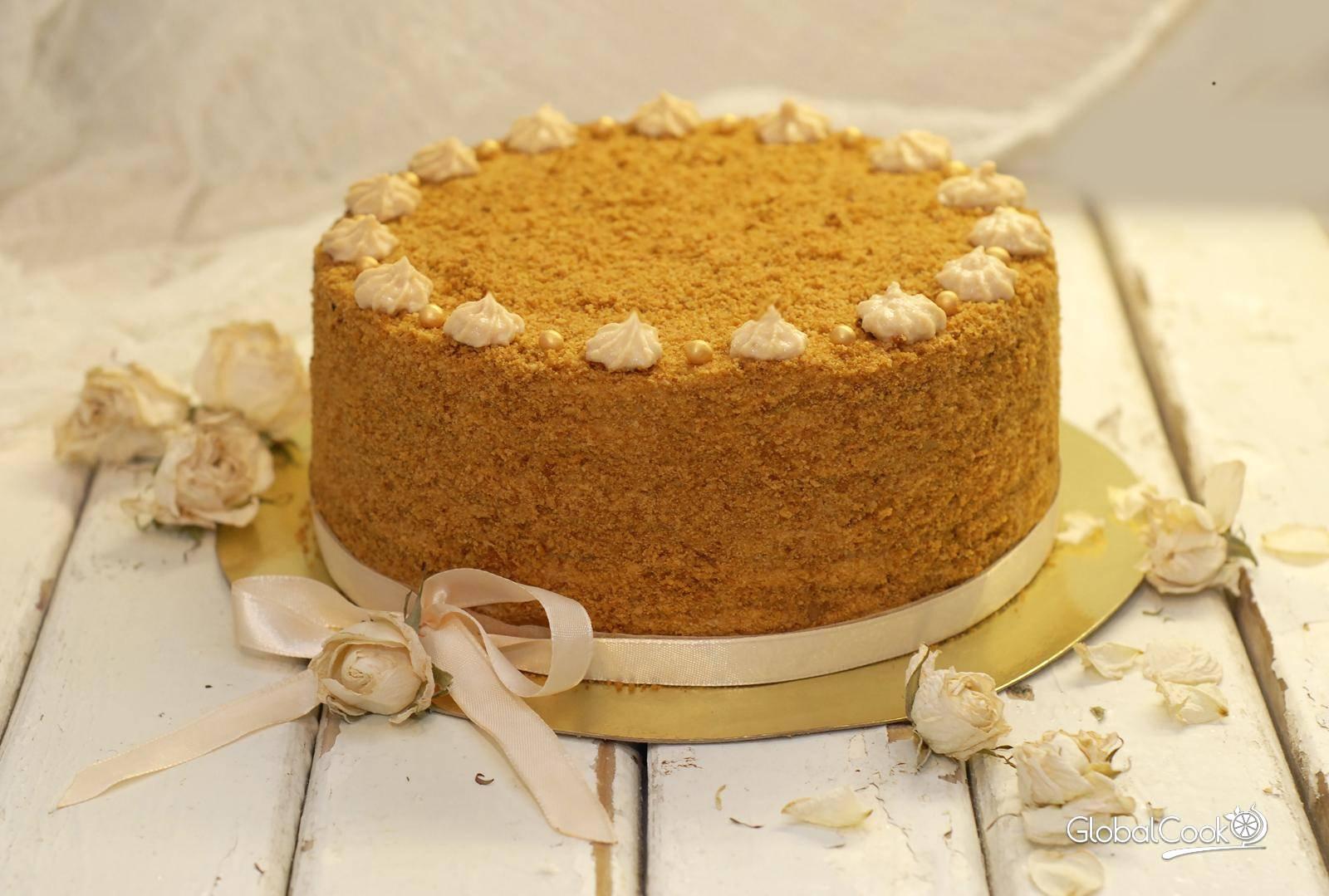 Торт рыжик рецепт в домашних условиях рецепт с пошагово