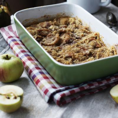 яблочный пирог Петсона