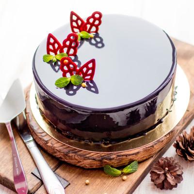 муссовый торт черный лес