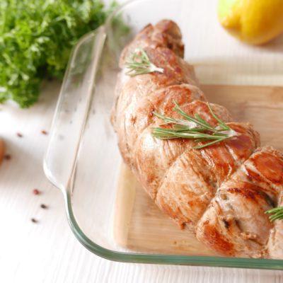 рулет из свинины, как правильно приготовить свинину