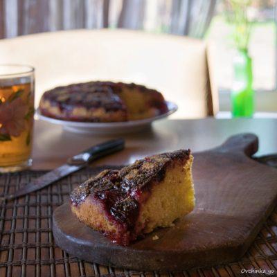 американский пирог со сливами
