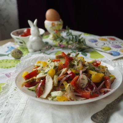 салат со сладким перцем